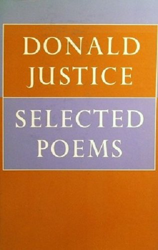Selected Poems (SIGNED): Justice, Donald