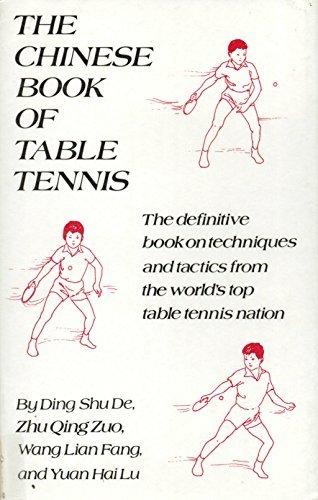 The Chinese Book of Table Tennis: Wang Lian Fang;