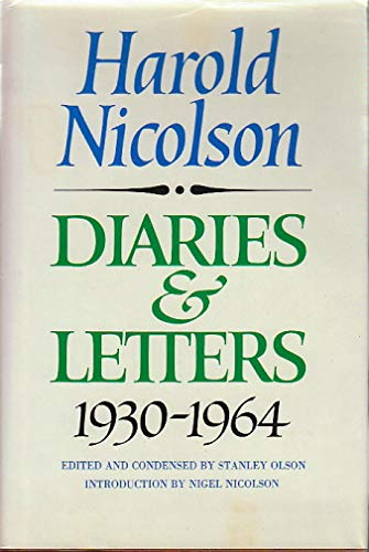 9780689110979: Diaries and Letters- 1930-1964