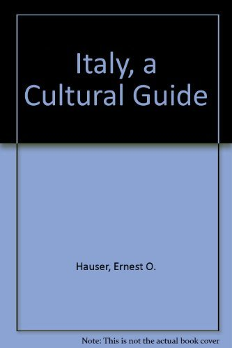 9780689111754: Italy, a Cultural Guide
