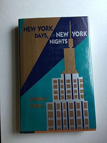 9780689115110: New York Days, New York Nights