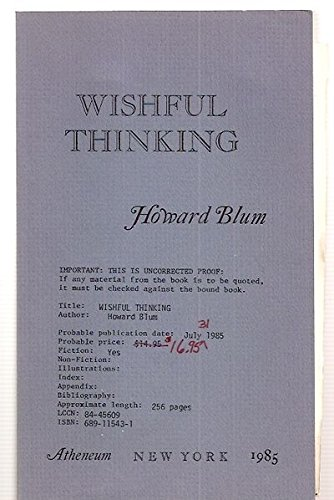 9780689115431: Wishful thinking