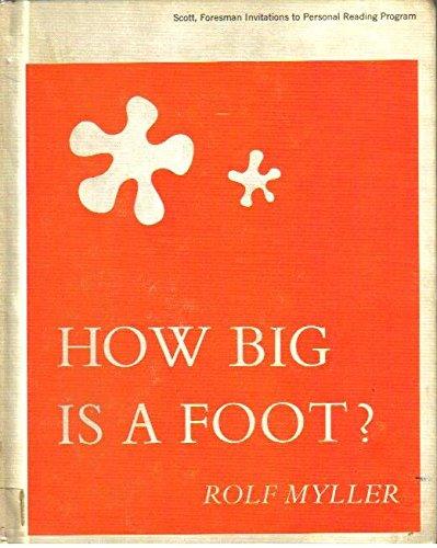 9780689202988: How Big Is a Foot