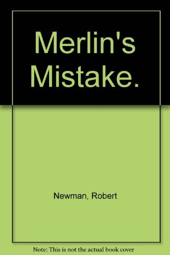 9780689205293: Merlin's Mistake.