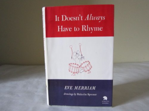 It Doesn't Always Have to Rhyme: Merriam, Eve