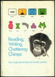 Reading, writing, chattering chimps: Text and drawings: Amon, Aline