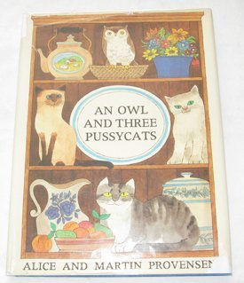 9780689308574: An Owl and Three Pussycats