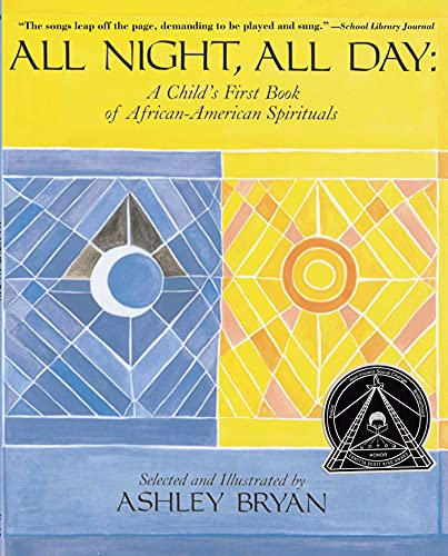 9780689316623: All Night, All Day: A Child's First Book of African-American Spirituals
