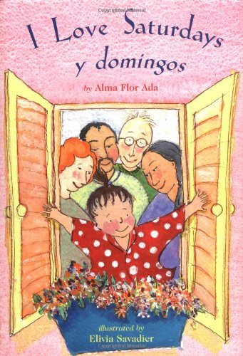 9780689318191: I Love Saturdays y Domingos (Americas Award for Children's and Young Adult Literature. Commended)