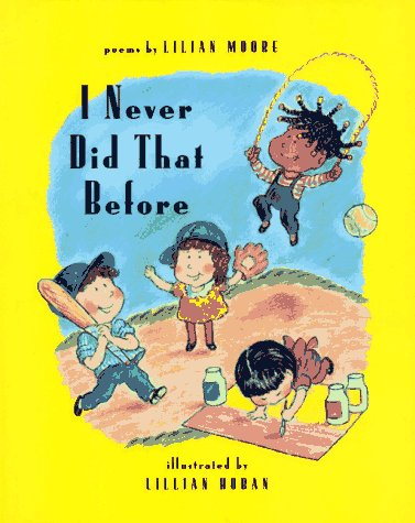 Stock image for I Never Did That Before for sale by Hippo Books