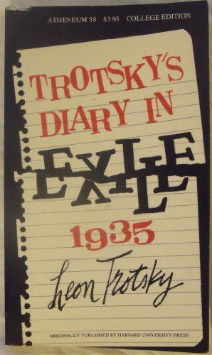 9780689702174: Trotsky's Diary in Exile, 1935