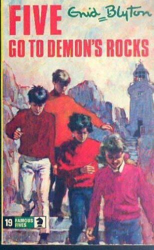 9780689704789: Five Go to Demon's Rocks (An Aladdin Book)