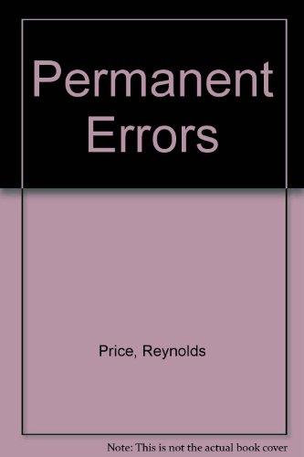 9780689705991: Permanent Errors