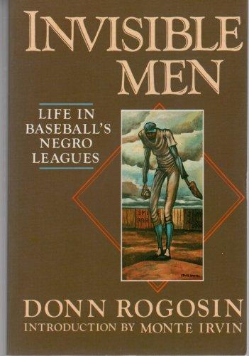 9780689706875: Invisible Men: Life in Baseball's Negro League
