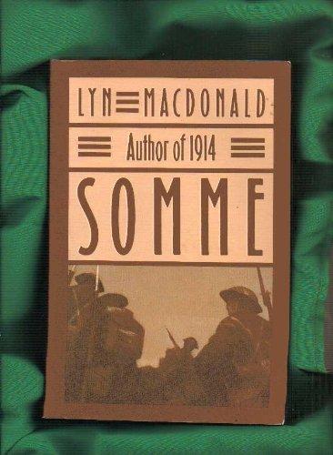 Somme: Lyn Macdonald