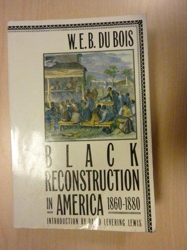 9780689708206: Black Reconstruction in America