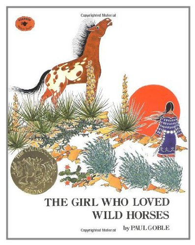9780689710827: The GIRL WHO LOVED WILD HORSES
