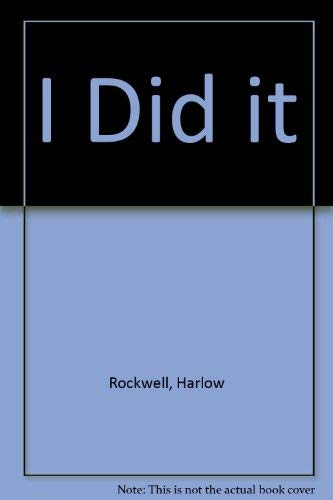 9780689711268: I DID IT (Ready-to-read)
