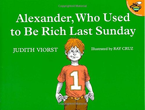 9780689711992: Alexander, Who Used to Be Rich Last Sunday