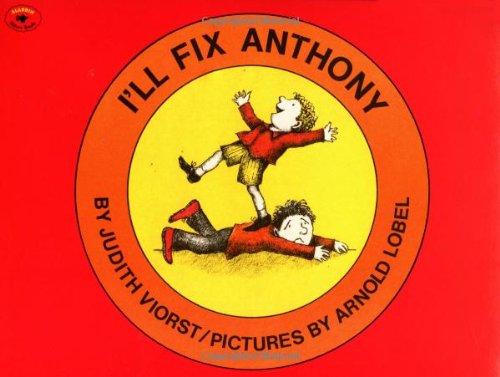 9780689712029: I'll Fix Anthony (Aladdin Picture Books)