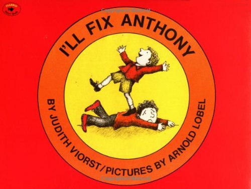 9780689712029: I'll Fix Anthony (Aladdin Picture Books)