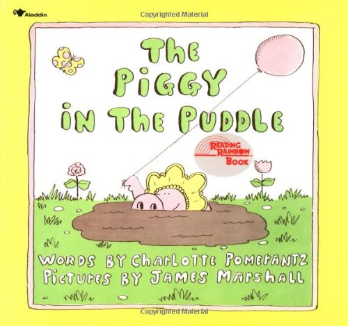 9780689712937: The Piggy in the Puddle (Reading Rainbow Books)