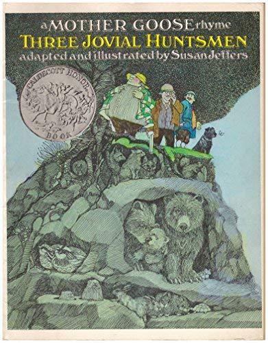 9780689713095: THREE JOVIAL HUNTSMEN (Mother Goose Rhyme)