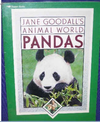 JANE GOODALLS ANIMAL WORLD PANDAS: Goodall