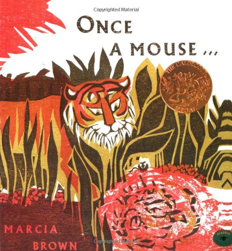 9780689713439: Once a Mouse...: A Fable Cut in Wood