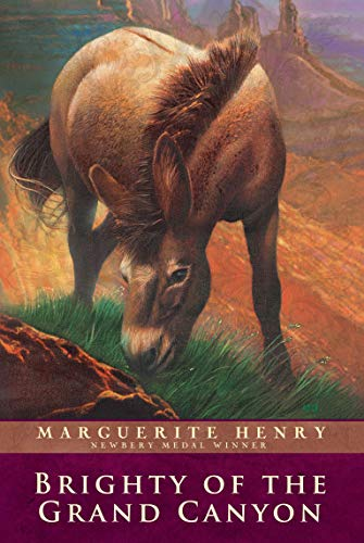 9780689714856: Brighty of the Grand Canyon (Marguerite Henry Horseshoe Library)