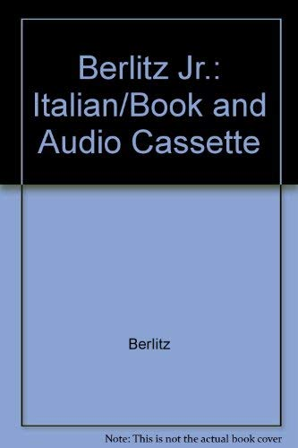 BERLITZ JR. ITALIAN (Teddy Berlitz): Berlitz