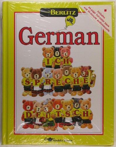 9780689715983: Berlitz Jr German Book & Cassette Package Ich Spreche Deutsch