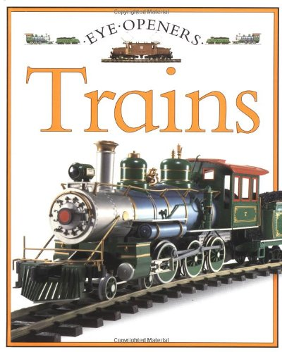 9780689716478: Trains: Eye Openers