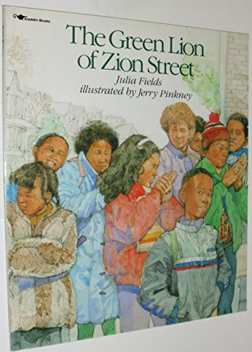 9780689716935: The GREEN LION OF ZION STREET