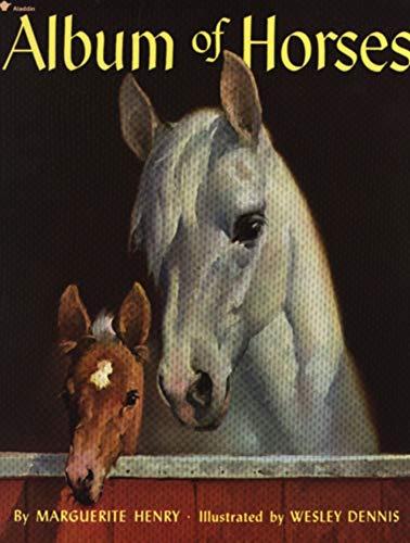 9780689717093: Album of Horses