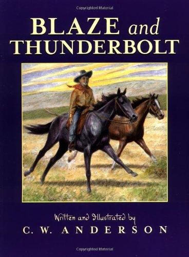 9780689717123: Blaze and Thunderbolt