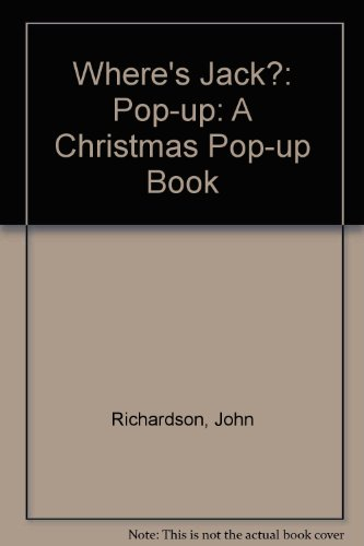 9780689717130: Where's Jack (a Christmas Pop Up Book)