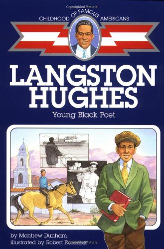 9780689717871: Langston Hughes: Young Black Poet (Childhood of Famous Americans)