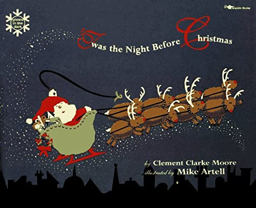 9780689718014: T'Was the Night before Christmas/Glow in the Dark
