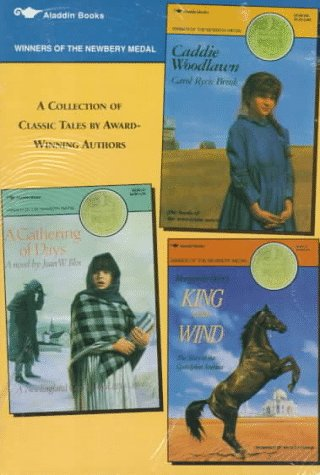 Newbery Medal Box Set: A Gathering of Days; Caddie Woodlawn; King of the Wind