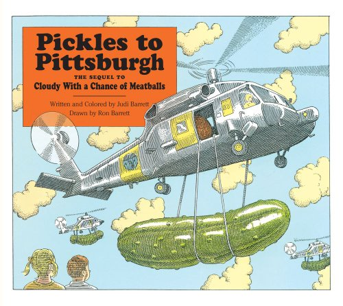 9780689801044: Pickles To Pittsburgh The Sequel To Cloudy With A Chance Of Meatballs : A Sequel To I Cloudy With A Chance Of Meatballs
