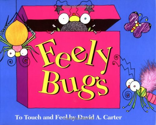 9780689801198: Feely Bugs: To Touch and Feel (Bugs in a Box Books)