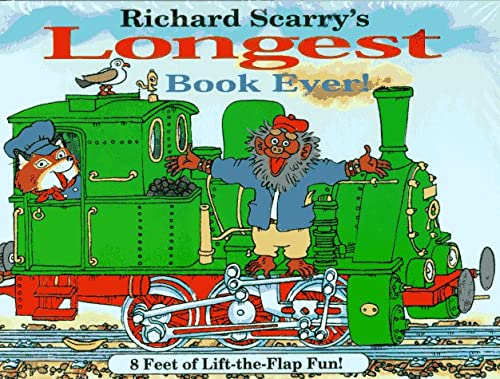 9780689801341: Richard Scarry's Longest Book Ever/8 Feet of Lift-The-Flap Fun!