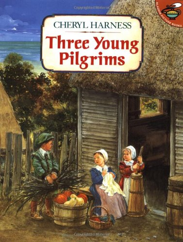 9780689802089: Three Young Pilgrims (Aladdin Picture Books)