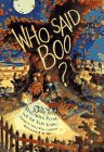 9780689803086: Who Said Boo?: Halloween Poems for the Very Young