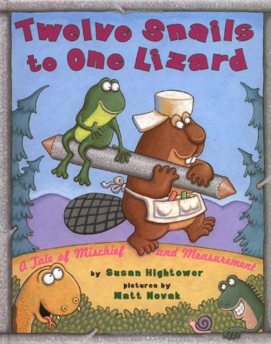 9780689804526: Twelve Snails to One Lizard: A Tale of Mischief and Measurement