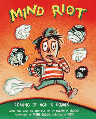 9780689806223: Mind Riot: Coming of Age in Comix