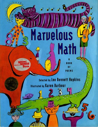 9780689806582: Marvelous Math: A Book of Poems
