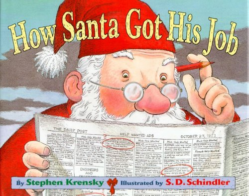 9780689806971: How Santa Got His Job