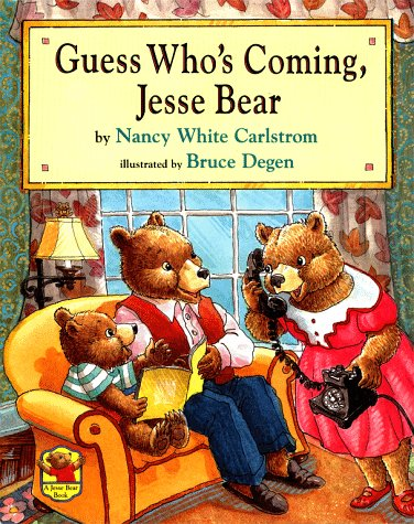 9780689807022: Guess Who's Coming, Jesse Bear